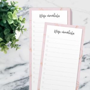 Moja Checklista - notes 50 stron (PREORDER)
